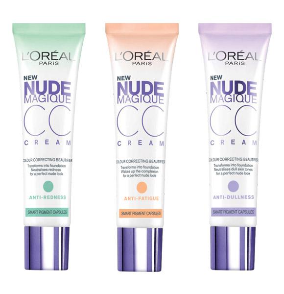 Новые корректирующие CC-крема от бренда L'Oréal