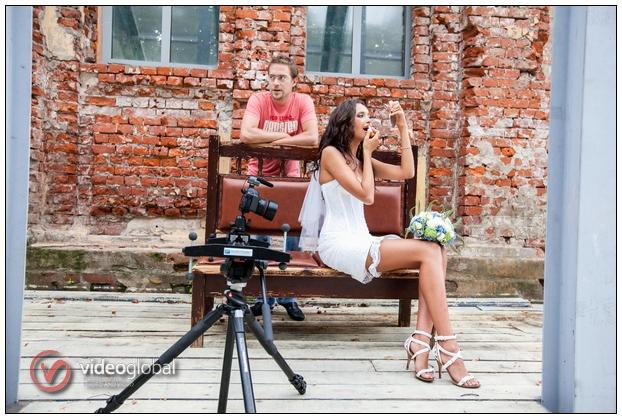 Свадебная съёмка от Видеоглобал