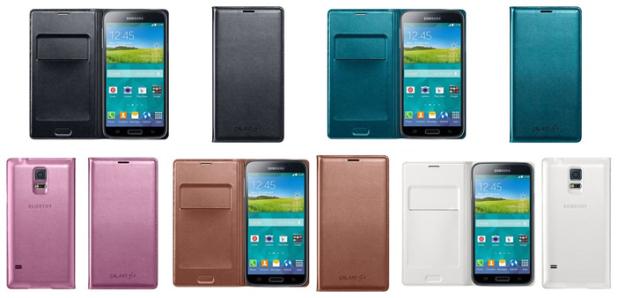 Краткий обзор фирменных аксессуаров для Samsung Galaxy S5