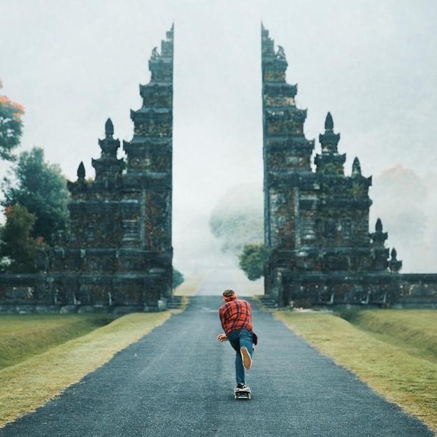 12. Удивительные ворота на Бали, Индонезия