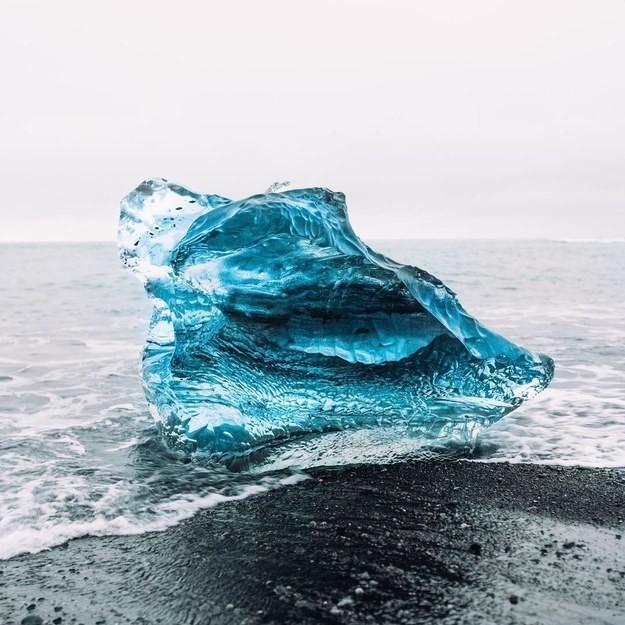 2. Ледниковая лагуна Йёкюльсаурлоун, Исландия