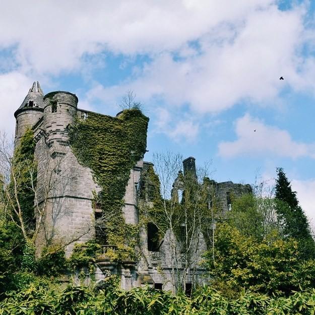 7. Замок Бьюкенан, Стерлингшир, Великобритания