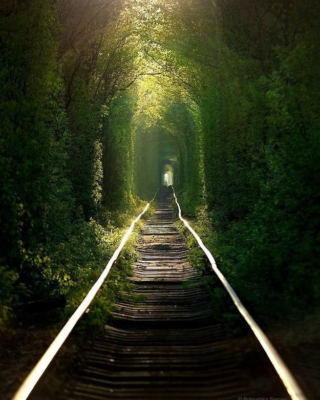 11. Тоннель Любви, Клевань, Украина